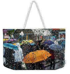 Raining Weekender Tote Bag