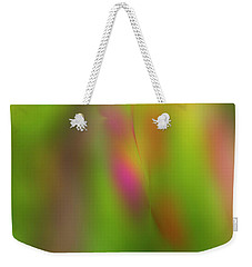 Rainy Day Colors Weekender Tote Bag by Nancy Marie Ricketts