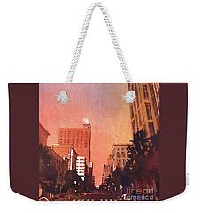Raleigh Downtown Weekender Tote Bag by Ryan Fox