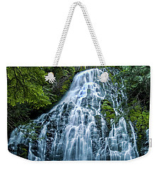 Ramona Falls Cascade Weekender Tote Bag