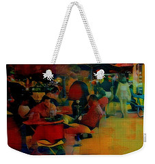Ranoush Painted Weekender Tote Bag by Kelly Awad