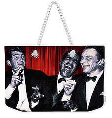 Rat Pack Weekender Tote Bag