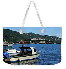Weekender Tote Bag featuring the photograph Ready To Go by Gary Wonning