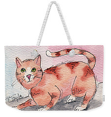 Ready To Play Weekender Tote Bag by Terry Taylor