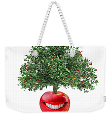 Red Apple... Weekender Tote Bag