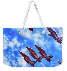 Red Arrows Weekender Tote Bag