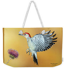 Red-bellied Woodpecker Weekender Tote Bag
