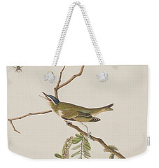 Red Eyed Vireo Weekender Tote Bag by John James Audubon