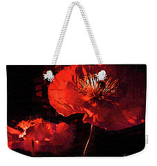 Two Red Poppies Weekender Tote Bag