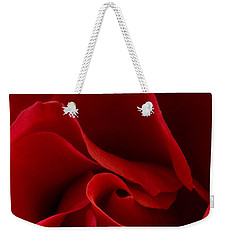 Red Rose Vi Weekender Tote Bag