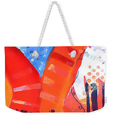 Red Series Weekender Tote Bag