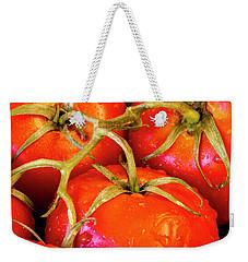 Red Tomatoes On The Vine Weekender Tote Bag