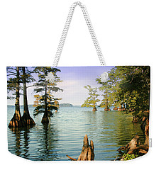 Weekender Tote Bag featuring the photograph Reelfoot Lake by Bonnie Willis