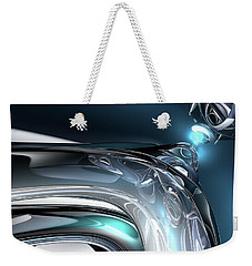 Reflections Of Blue Weekender Tote Bag