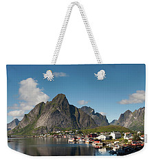 Reine And Olstinden Weekender Tote Bag