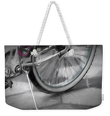 Ride With Me Weekender Tote Bag by Carolyn Marshall