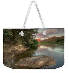 River Serenity  Weekender Tote Bag