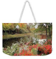 Riverside Weekender Tote Bag