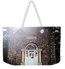 Riverside Cemetery Chapel Weekender Tote Bag