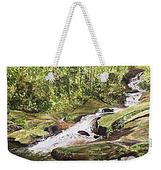 Roaring Fork Falls -- June 2017 Weekender Tote Bag