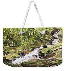 Roaring Fork Falls -- June 2017 Weekender Tote Bag