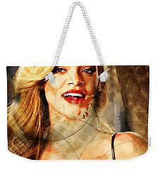 Robyn Rihanna Fenty - Rihanna Weekender Tote Bag by Sir Josef - Social Critic - ART