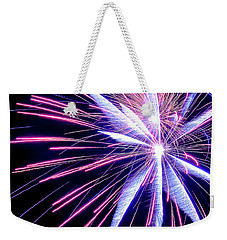Rockets Glare Weekender Tote Bag by Michael Nowotny
