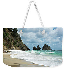 Rocks Of Coromandel, New Zealand Weekender Tote Bag