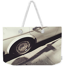 Weekender Tote Bag featuring the photograph Rolls Royce Baby by Rebecca Harman