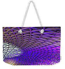 Roof Design Weekender Tote Bag by Shirley Mitchell