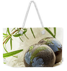 Weekender Tote Bag featuring the photograph Rosemary Caramel Chocolate by Sabine Edrissi