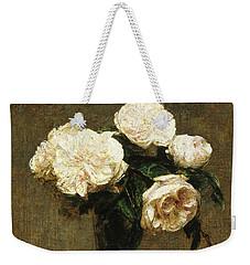 Roses In A Vase Weekender Tote Bag