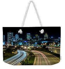 Round The Bend Weekender Tote Bag by Randy Scherkenbach