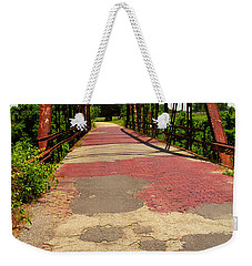 Route 66 - One Lane Bridge Weekender Tote Bag