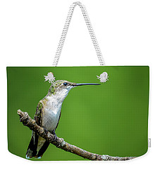 Ruby-throated Hummingbird Weekender Tote Bag