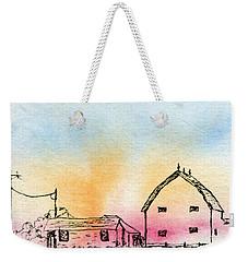 Rural Nostalgia Weekender Tote Bag