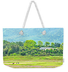 Rural Scenery In Spring Weekender Tote Bag