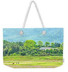 Rural Scenery In Spring Weekender Tote Bag