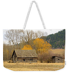 Rustic Past Weekender Tote Bag