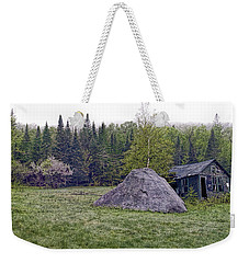 Weekender Tote Bag featuring the photograph Rustic Remnant by Richard Bean