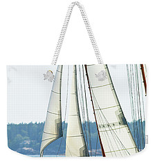 Sailing In Maine Weekender Tote Bag