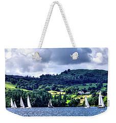 Sailing Lake Windermere Weekender Tote Bag