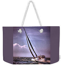 Sailing To Nantucket 003 Weekender Tote Bag