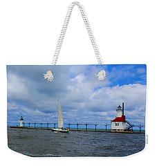 Saint Joseph Lighthouse Weekender Tote Bag