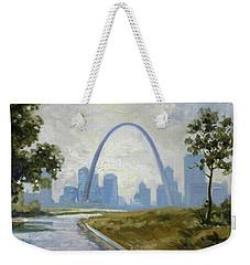 Saint Louis Panorama Weekender Tote Bag