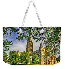 Salisbury Cathedral, Uk Weekender Tote Bag