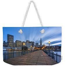 Pier 7 Weekender Tote Bag