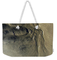 Weekender Tote Bag featuring the photograph Sandscape 1 by Newel Hunter