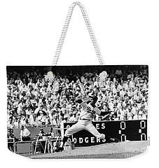 Sandy Koufax (1935- ) Weekender Tote Bag