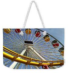 Santa Monica Pier Amusement Park Weekender Tote Bag